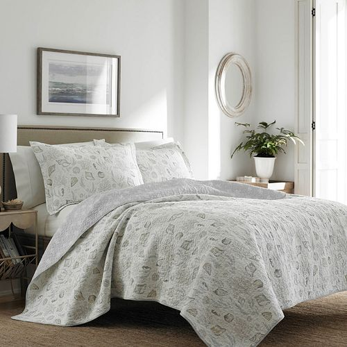 Laura Ashley Lifestyles Harmony Coast Quilt Set