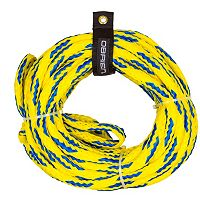 O'Brien 60-Ft. 4-Person Yellow Floating Tube Rope