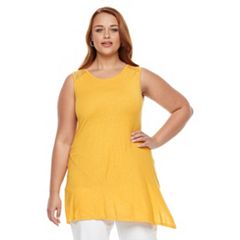 Plus Size Apt. 9® Crochet Trim Tank Top