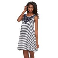 Women's Kate and Sam Striped Tank Dress