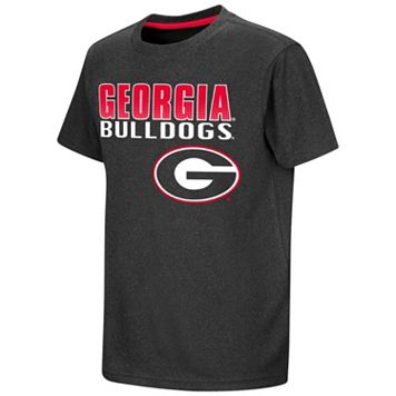 Boys 8-20 Campus Heritage Georgia Bulldogs Heathered Tee
