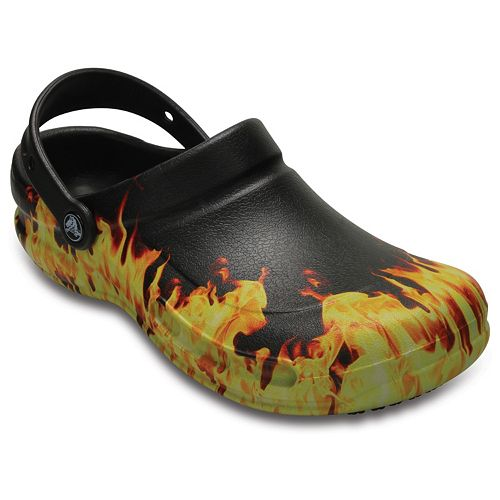 f8be46ef60ad2 Crocs Bistro Men s Flame Clogs