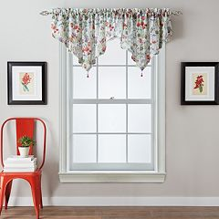 Botanical Garden Ascot Window Valance