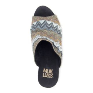 MUK LUKS Peyton Women's Wedge Sandals