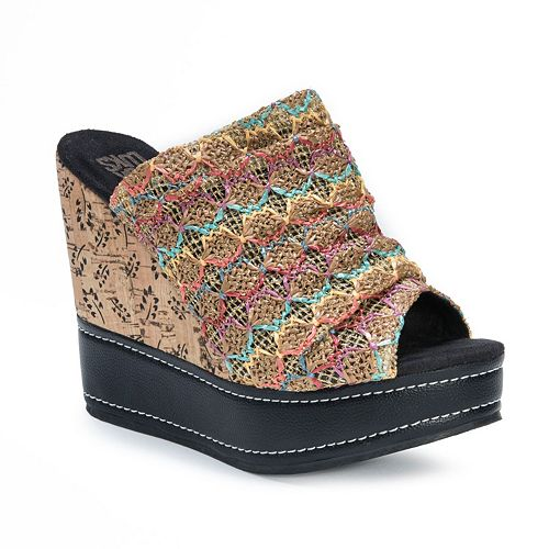 MUK LUKS Peyton Women's Wedge Sandals