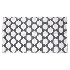 Thro by Marlo Lorenz Isabelle Metallic Geometric Rug - 3' x 5'