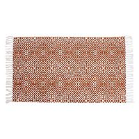 Thro by Marlo Lorenz Anders Fringe Lattice Rug - 2'3'' x 3'9''