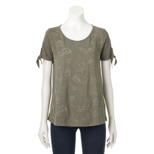 Women's SONOMA Goods for Life™ Embroidered Tee
