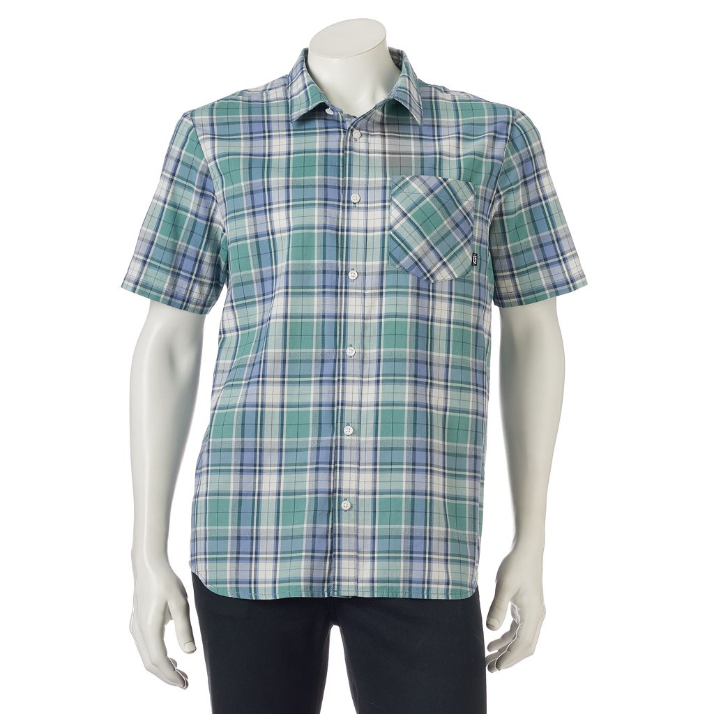 Men's VansPlaid Button-Down Shirt