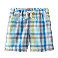 Baby Boy Jumping Beans® Plaid Shorts