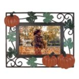 "Celebrate Fall Together Metal Pumpkin 5"" x 7"" Wire Frame"