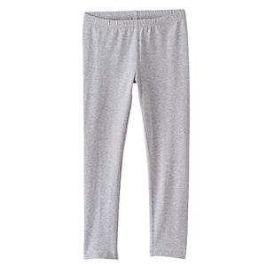 Girls 4-10 Jumping Beans® Long Heathered Leggings