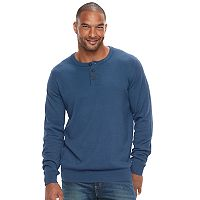 Big & Tall SONOMA Goods for Life™ Classic-Fit Coolmax Henley