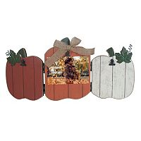 Celebrate Fall Together Three Pumpkin Photo Clip