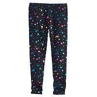 Girls 4-10 Jumping Beans® Long Embellished Leggings