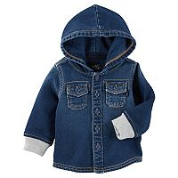 Baby Boy OshKosh B'gosh® Hooded Denim Shirt