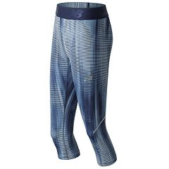 Women's New Balance Accelerate Printed Performance Capri Leggings