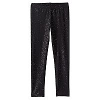 Girls 4-10 Jumping Beans® Long Glitter Leggings