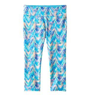 Girls 7-16 RBX Printed Capri Leggings