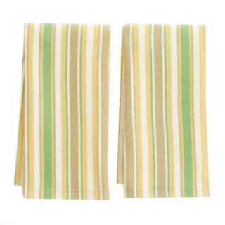 Laura Ashley Lifestyles Stripe Kitchen Towel 2-pk.