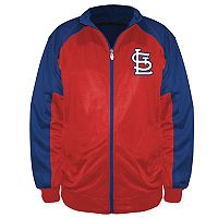 Big & Tall Majestic St. Louis Cardinals Track Jacket
