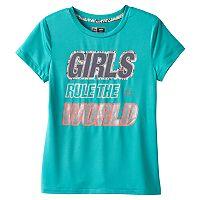Girls 7-16 RBX Motivation Foil Graphic Tee