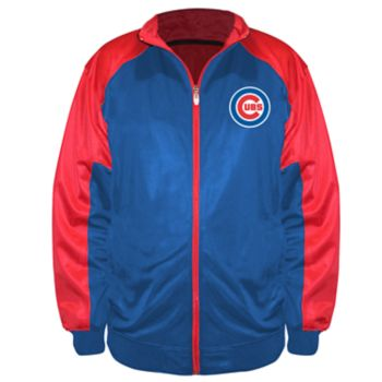 Big & Tall Majestic Chicago Cubs Track Jacket