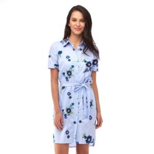 Women's Indication Floral Shirtdress