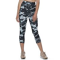 Juniors' SO® Tie-Dye Yoga Capris