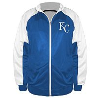 Big & Tall Majestic Kansas City Royals Track Jacket