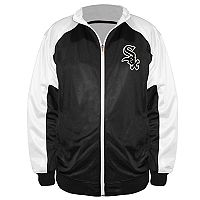 Big & Tall Majestic Chicago White Sox Track Jacket