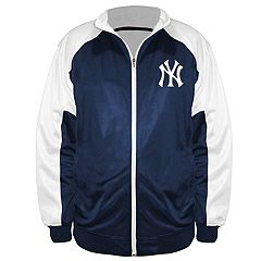 Big & Tall Majestic New York Yankees Track Jacket