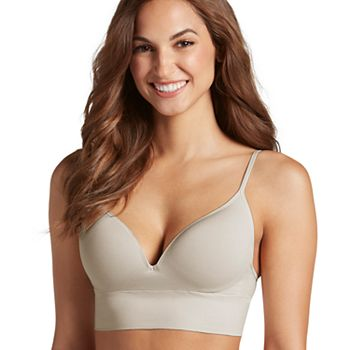 b1bb41d71d9009 Jockey Bras  Natural Beauty Seamfree Molded Cups Bralette 2451