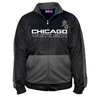 Big & Tall Majestic Chicago White Sox Tricot Track Jacket
