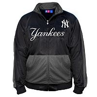 Big & Tall Majestic New York Yankees Tricot Track Jacket