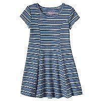 Toddler Girl Jumping Beans® Striped Skater Dress
