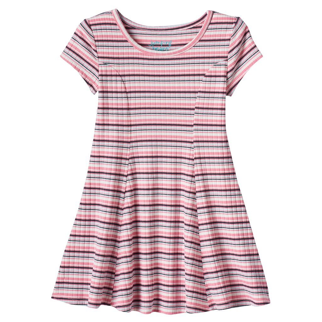 Toddler Girl Jumping Beans® Striped Skater Dress