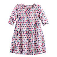 Toddler Girl Jumping Beans® Print Swing Dress