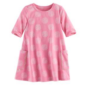 Toddler Girl Jumping Beans® Print Swing Dress