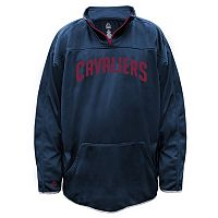 Big & Tall Majestic Cleveland Cavaliers Birdseye Pullover