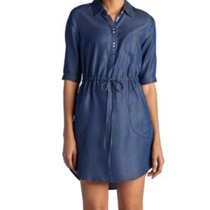 Women's Lee Roll-Tab Chambray Shirtdress