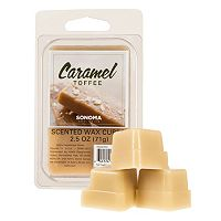 SONOMA Goods for Life™ Caramel Toffee Wax Melt 6-piece Set