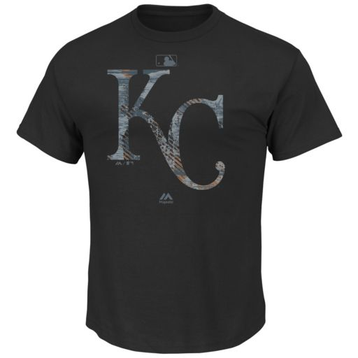 Men's Majestic Kansas City Royals Clubhouse Tee