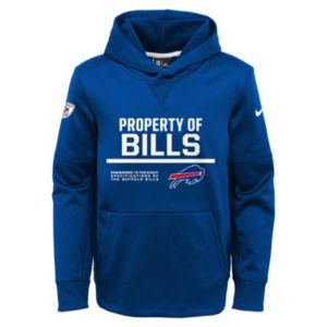 Boys 8-20 Nike Buffalo Bills Circuit Therma-FIT Hoodie