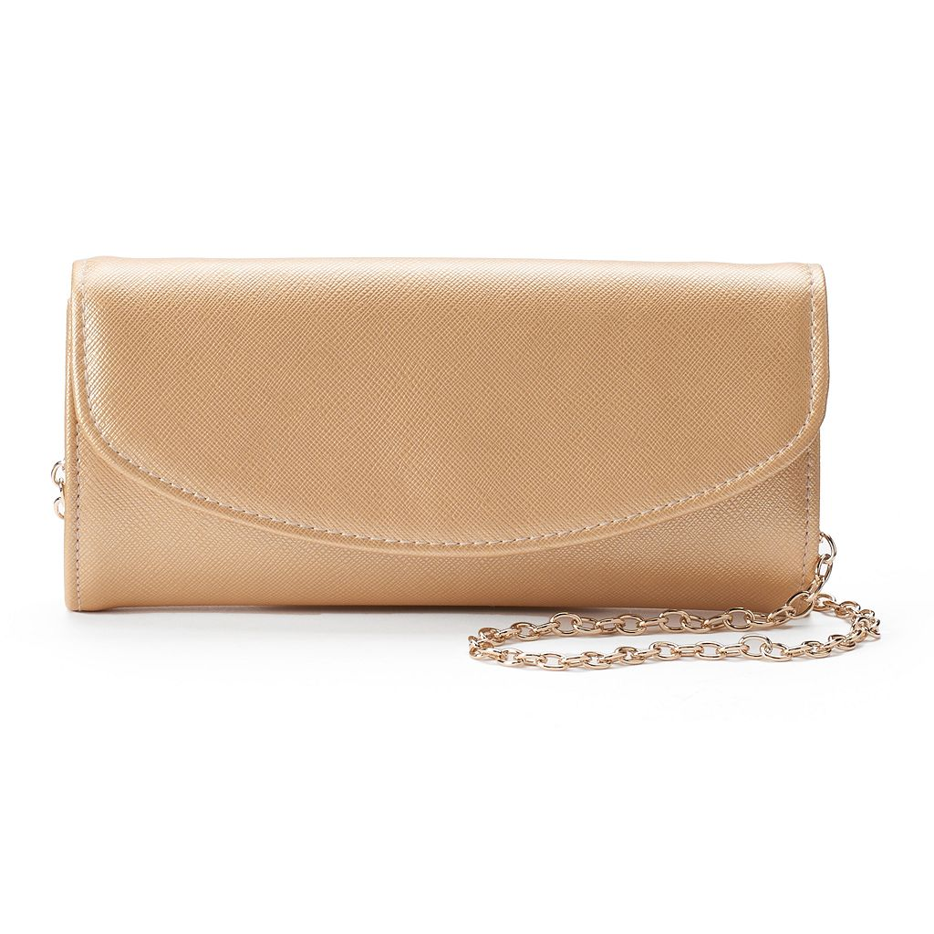 Lenore by La Regale Perfect Flap Clutch