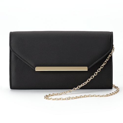 Lenore by La Regale Satin Envelope Clutch