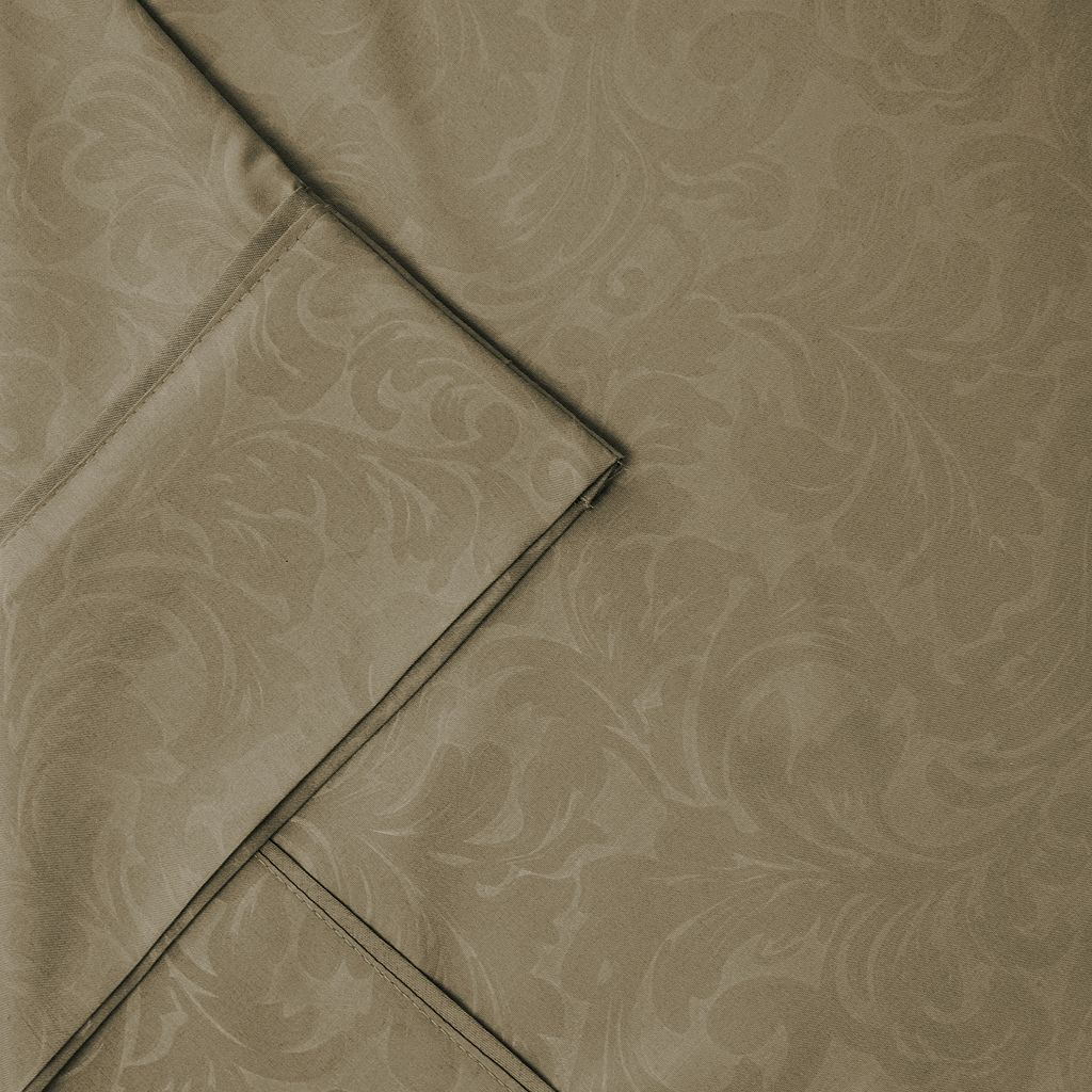 Pacific Coast Textiles Damask Vine Sheet Set