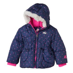 Baby Girl ZeroXposur Rosetta Heavyweight Puffer Jacket