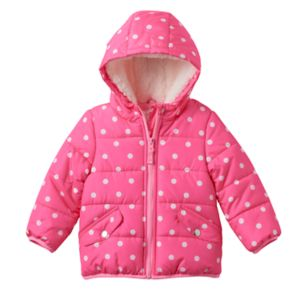 Baby Girl Carter's Hooded Puffer Jacket