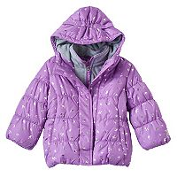 Toddler Girl ZeroXposur Heavyweight Fleece-Lined Foil Crown Jacket